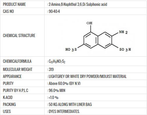 sulpho-gama-acid